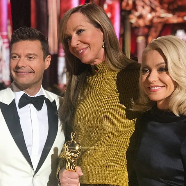Last time I spoke to @allisonbjanney she was an Oscar nominee. Now (and forever) you can refer to her as an OSCAR-WINNING ACTRESS. Well deserved :) #AfterOscar