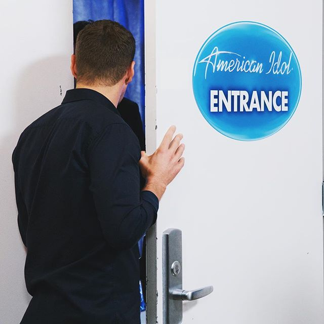 Peeking through the door where dreams come true. The #AmericanIdol premiere party continues tonight at 8/7c on ABC!
