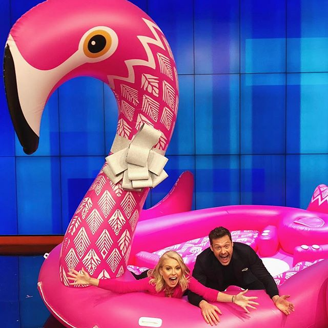 Swan inflatables are so last summer, it s the year of the flamingo.