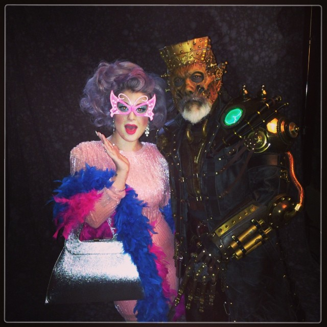 Me and the incredible #RickBaker who is the genius behind all these special effects makeup master pieces! #macmonsters