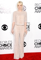 Анна Фэрис на церемонии People's Choice Awards в январе 2014-го, наряд Naeem Khan