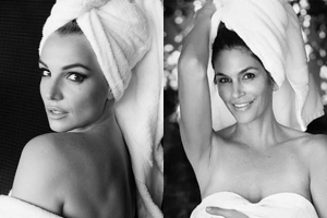 Towel Series: Бритни Спирс, Синди Кроуфорд и другие позировали Марио Тестино
