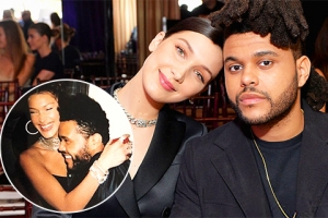 Белла Хадид опубликовала новую серию романтичных снимков с The Weeknd