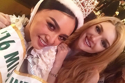Россиянка вошла в топ-15 конкурса Miss International-2016: царственный наряд, речь от души и личный рекорд