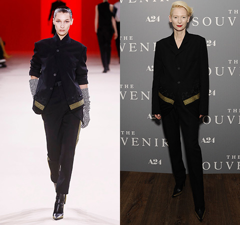 Fashion Battle: Bella Hadid vs. Tilda Swinton
