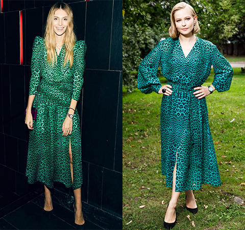 Battle of dresses: Yasmina Muratovich vs Julia Peresild