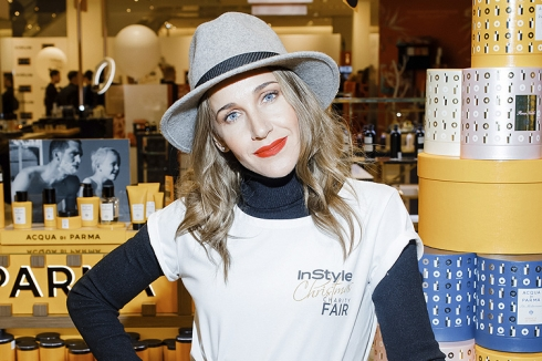 Гости вечеринки InStyle Christmas Charity Fair